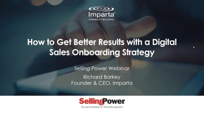 How to Get Better Results with a Digital Sales Onboarding Strategy