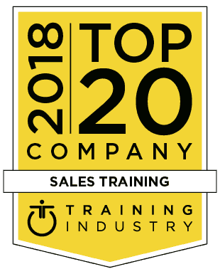 Training industry Top 20 sales training company 2018